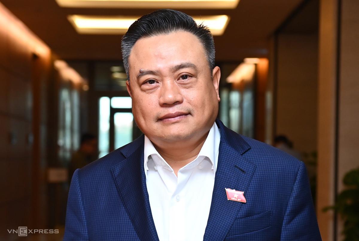 Phó chủ nhiệm Văn phòng Quốc hội Trần Sỹ Thanh. Ảnh: Giang Huy