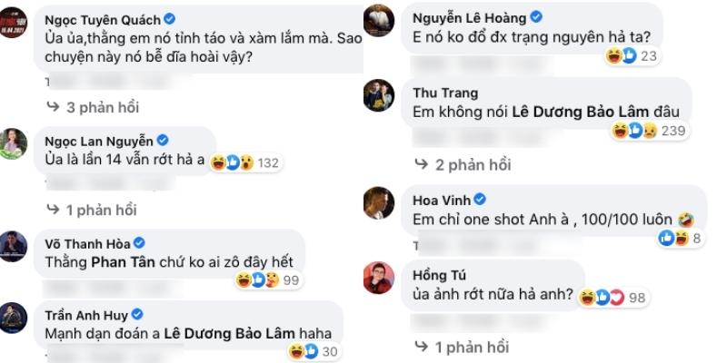 Đồng nghiệp thừa cơ hội liền chọc ghẹo nỗi đau này của Lê Dương Bảo Lâm.