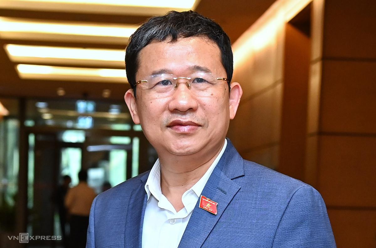 Ông Vũ Hải Hà, Chủ nhiệm Ủy ban Đối ngoại của Quốc hội. Ảnh: Giang Huy