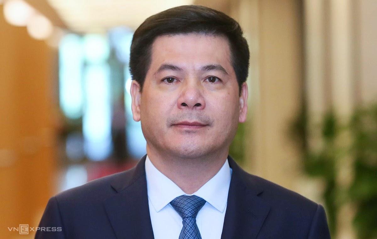 Ông Nguyễn Hồng Diên được đề cử làm Bộ trưởng Công Thương. Ảnh: Giang Huy