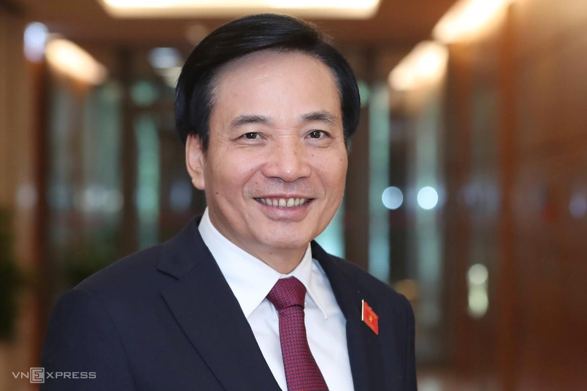 Ông Trần Văn Sơn, Phó chủ nhiệm Văn phòng Chính phủ, được trình để bổ nhiệm làm Bộ trưởng, Chủ nhiệm Văn phòng Chính phủ. Ảnh: Giang Huy