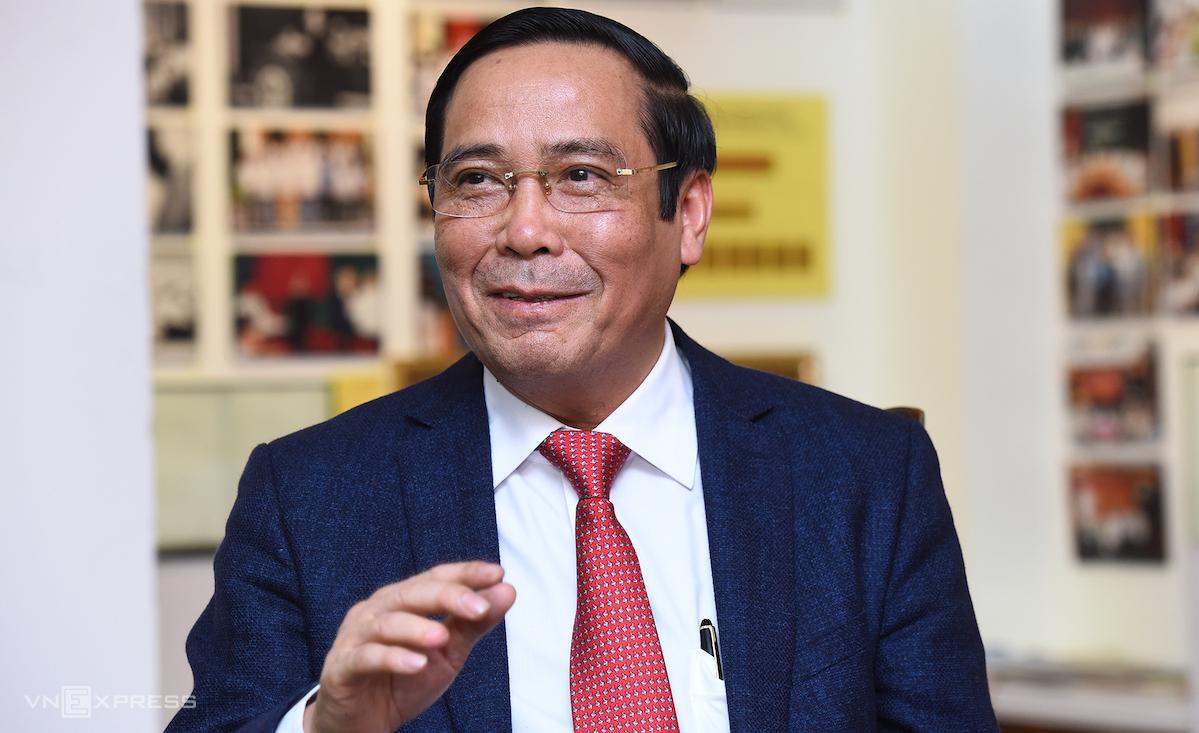 Ông Nguyễn Thanh Bình, Phó Trưởng Ban thường trực Ban Tổ chức Trung ương. Ảnh: Giang Huy