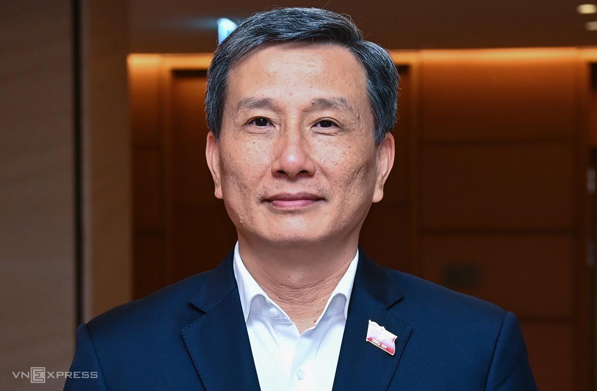 Ông Lê Quang Huy, Chủ nhiệm Ủy ban Khoa học Công nghệ và Môi trường của Quốc hội. Ảnh: Giang Huy