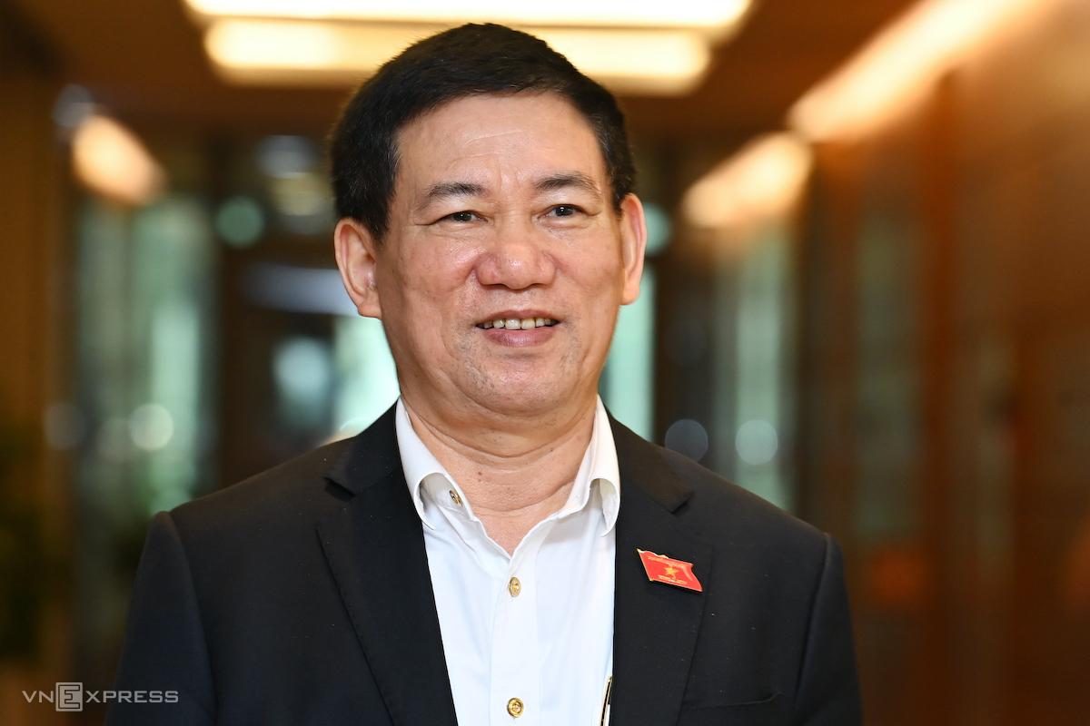 Ông Hồ Đức Phớc, nguyên Tổng Kiểm toán Nhà nước, được trình để bổ nhiệm làm Bộ trưởng Tài chính. Ảnh: Giang Huy