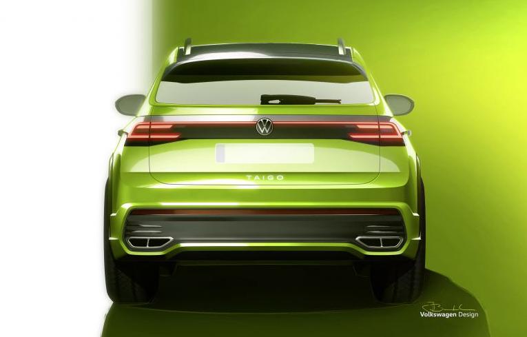 Phần đuôi xe với sự hiện diện của những đường thẳng song song. Ảnh: Volkswagen