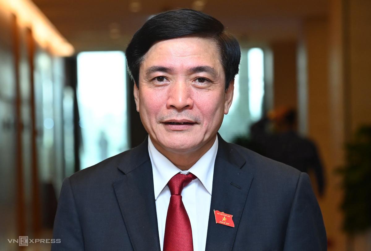 Tân Tổng thư ký Quốc hội Bùi Văn Cường. Ảnh: Giang Huy