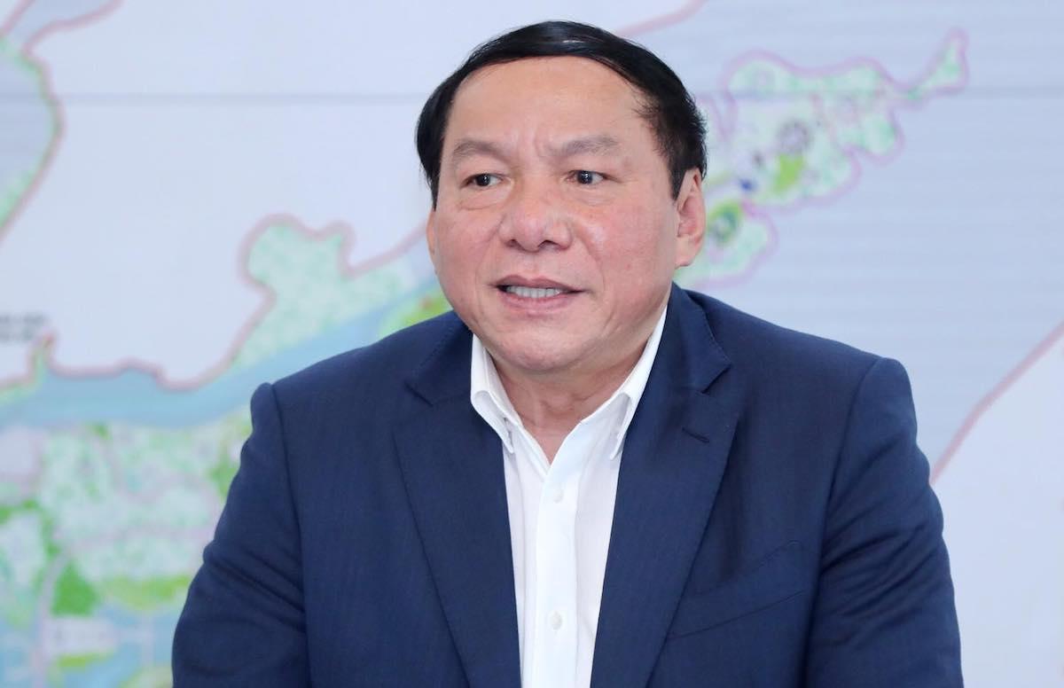Bộ trưởng Nguyễn Văn Hùng. Ảnh: Trần Huấn