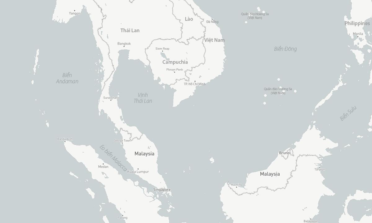 Eo biển Malacca và khu vực phía nam Biển Đông. Đồ họa: CSIS.