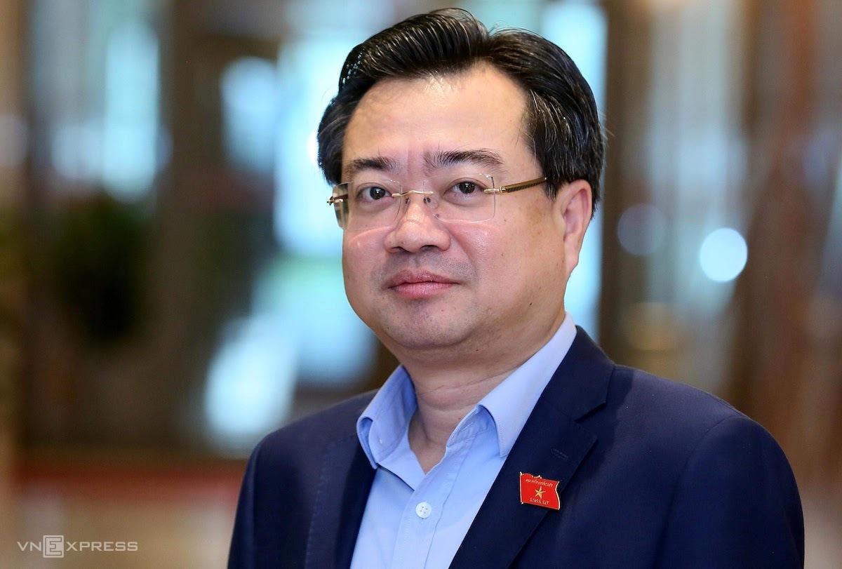 Ông Nguyễn Thanh Nghị, Ủy viên Trung ương Đảng, Thứ trưởng Xây dựng. Ảnh: Giang Huy