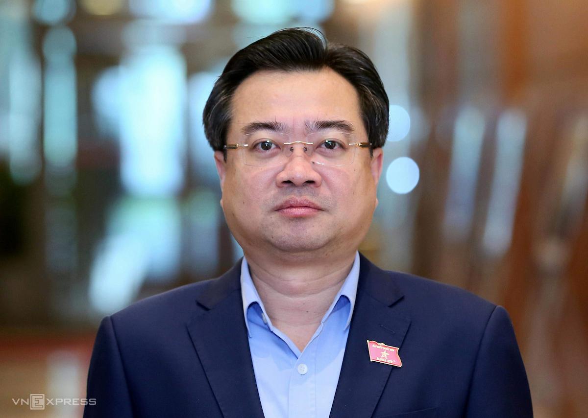 Tân Bộ trưởng Xây dựng Nguyễn Thanh Nghị. Ảnh: Giang Huy