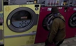Trộm nội y phụ nữ trong máy giặt