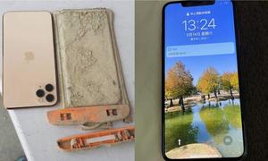 Điện thoại vẫn chạy tốt sau một năm chìm dưới hồ