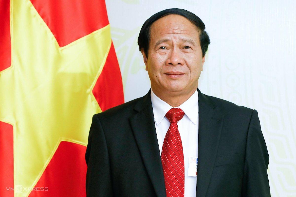 Tân Phó thủ tướng Lê Văn Thành. Ảnh: Giang Huy