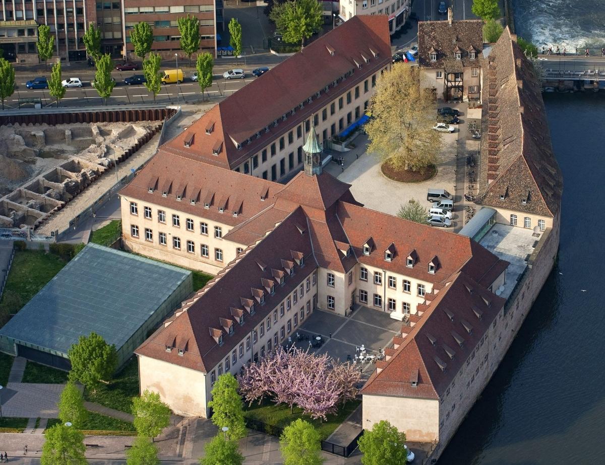 Trường Hành chính Quốc gia Pháp (École Nationale dAdministration - ENA) tại Strasbourg, Pháp. Ảnh: Smapse