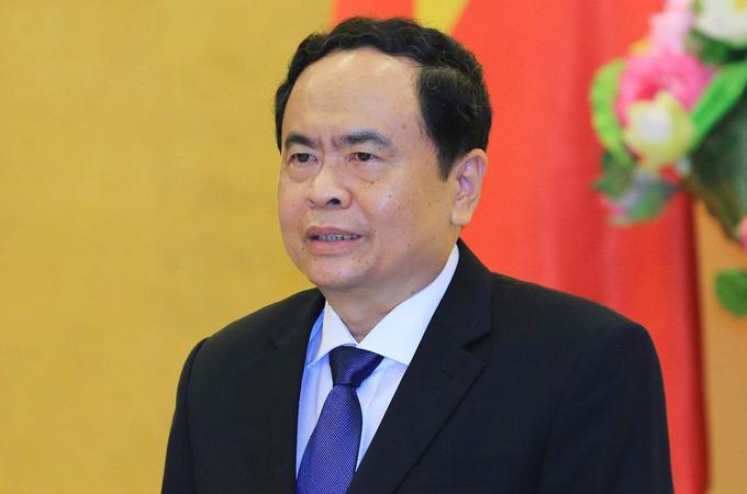 Phó chủ tịch Quốc hội Trần Thanh Mẫn. Ảnh: Hoàng Phong