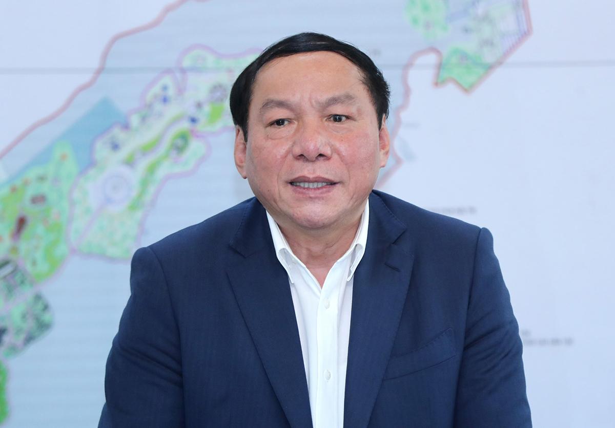Bộ trưởng Văn hóa, Thể thao và Du lịch Nguyễn Văn Hùng. Ảnh: Trần Huấn