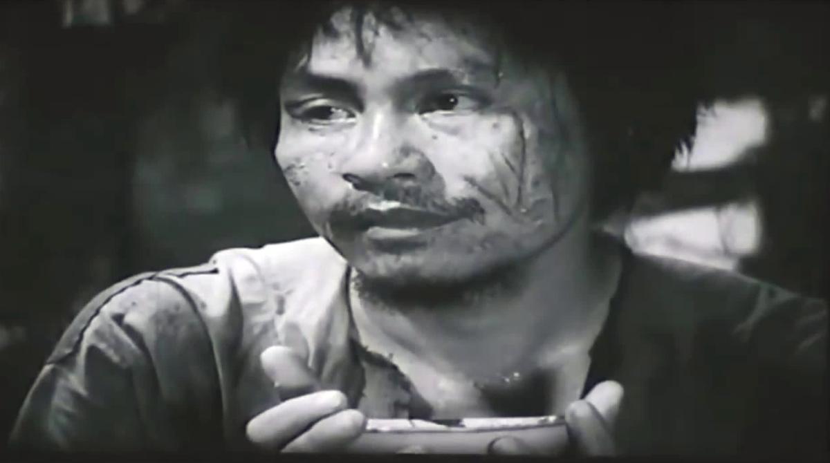 Tạo hình Chí Phèo trong phim Làng Vũ Đại ngày ấy.