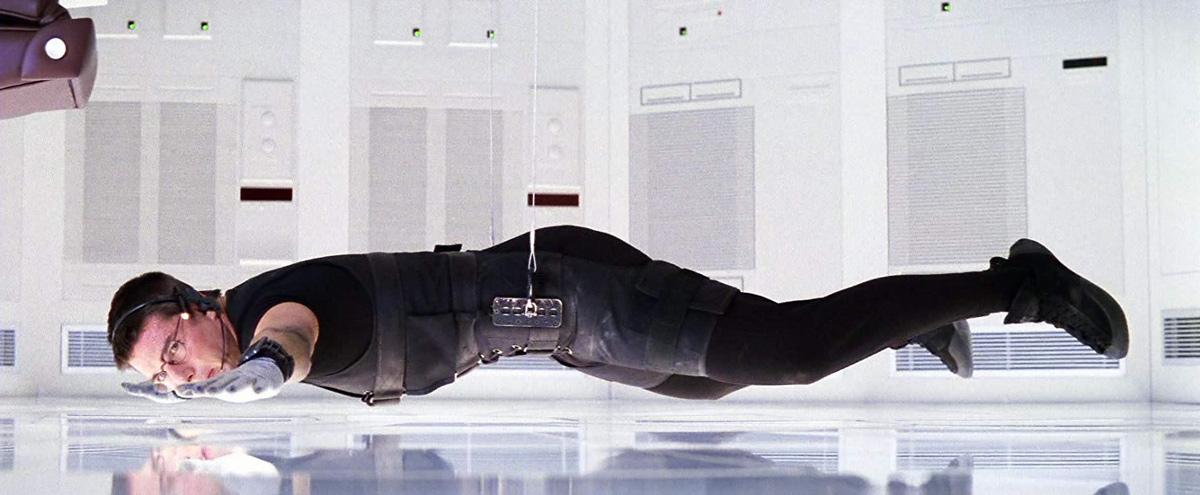 Cảnh trong phim Điệp vụ Bất khả thi là nguồn gốc biệt hiệu của băng trộm. Ảnh: Paramount Pictures.