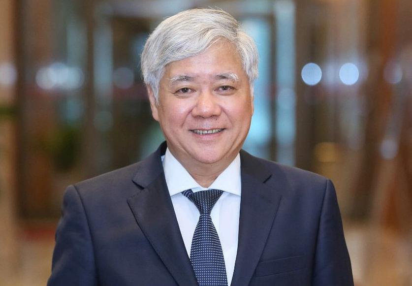 Tân Chủ tịch Mặt trận Tổ quốc Việt Nam Đỗ Văn Chiến. Ảnh: Hoàng Phong