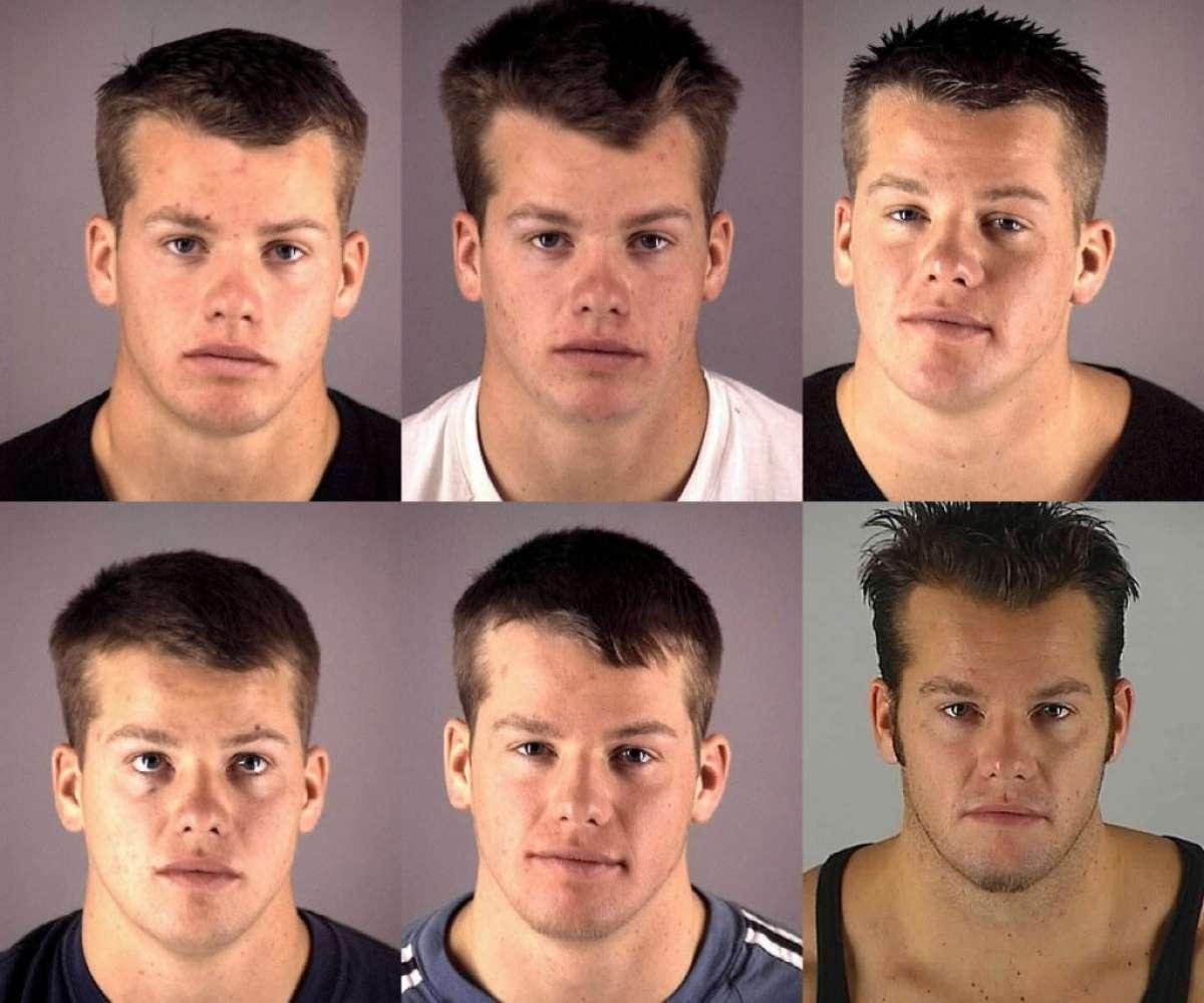 Từ năm 2000 tới năm 2009, James Henrikson từng nhiều lần bị bắt. Ảnh: Deschutes County Jail.