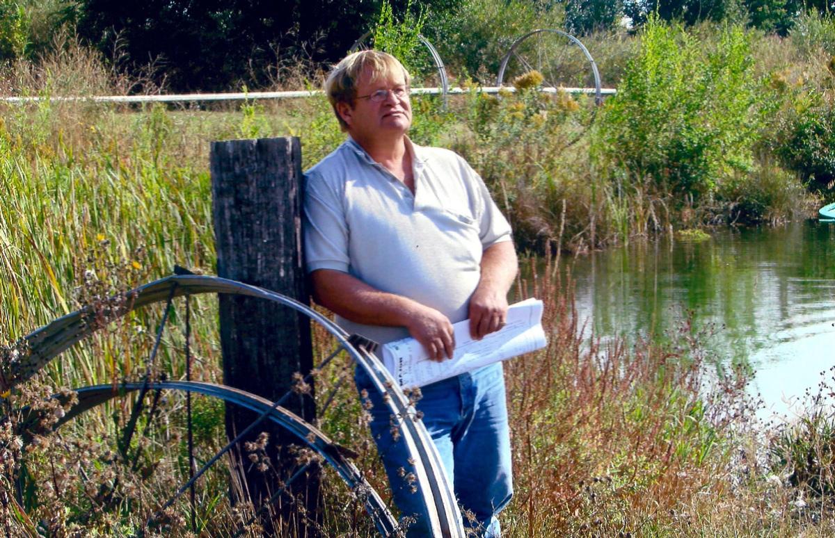 Douglas Carlile, một trong những đối tác bị Henrikson hãm hại. Ảnh: Elberta Carlile.