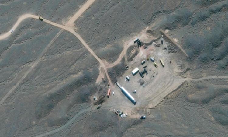 Hình ảnh vệ tinh của cơ sở hạt nhân Natanz, Iran. Ảnh: Maxar.
