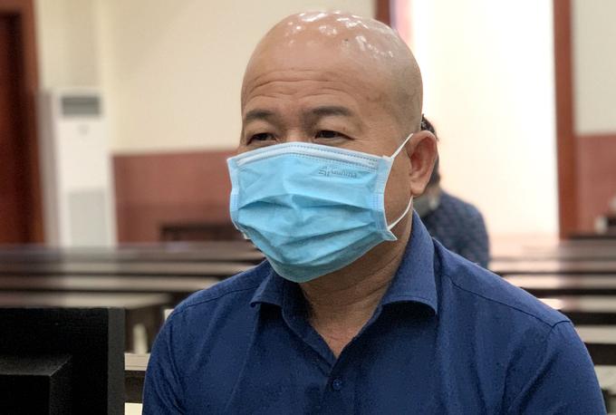 Bị cáo Đinh Ngọc Hệ tại TAND Cấp cao hôm 22/3. Ảnh: Dương Trang.