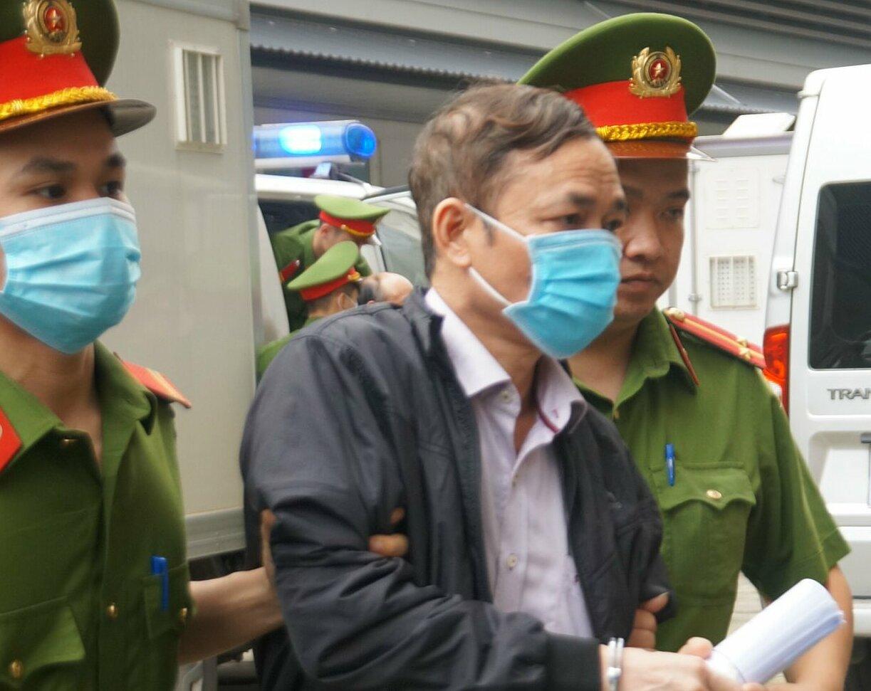 Bị cáo Trần Văn Khâm. Ảnh: Phạm Dự