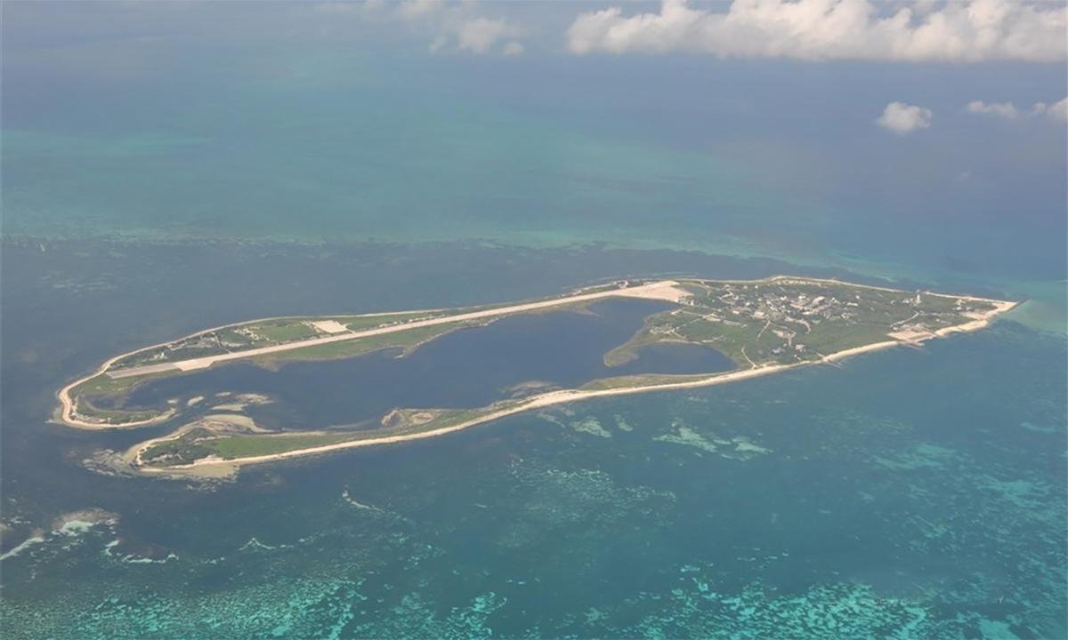 Quần đảo Đông Sa do Đài Loan kiểm soát. Ảnh: CNA.
