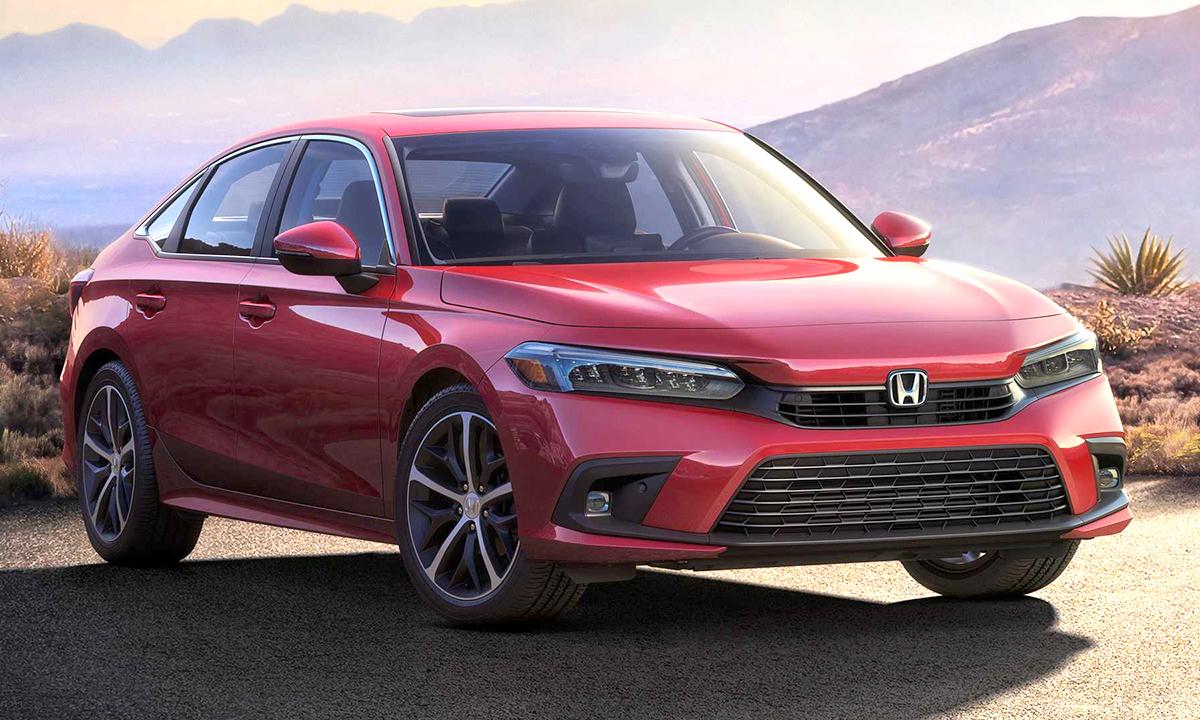 Civic 2022 lộ thiết kế bản sản xuất. Ảnh: Honda