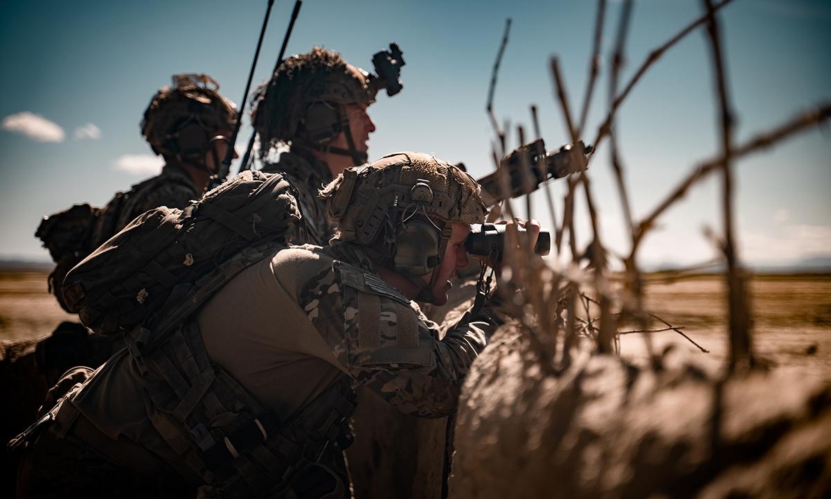 Đặc nhiệm Mỹ tham gia một trận đánh tại khu vực đông nam Afghanistan  trong chiến dịch Kiên quyết Hỗ trợ tháng 4/2019. Ảnh: US Army.