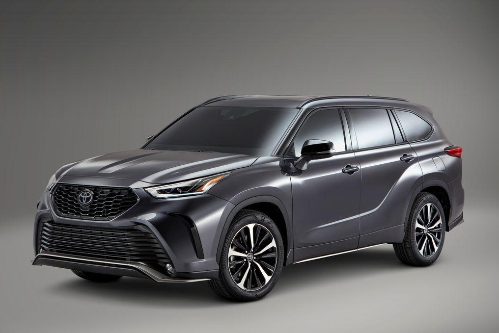 Highlander 2021 bán tại Mỹ. Ảnh: Toyota