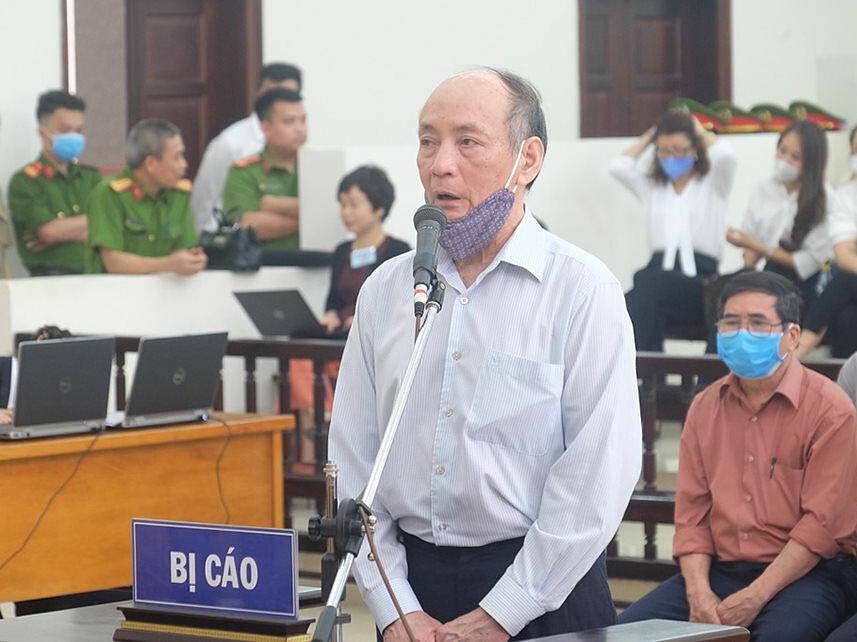 Bị cáo Trần Trọng Mừng bị VKSND Tối cao đề nghị 10- 11 năm tù. Ảnh: Nam Anh