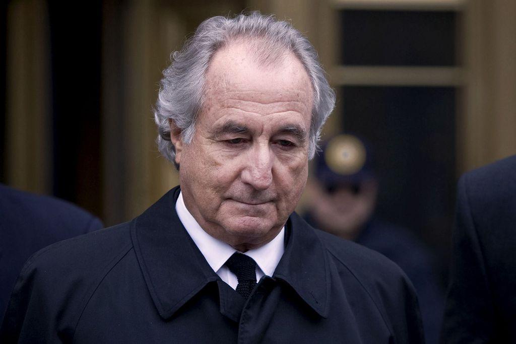 Bernie Madoff năm 2009. Ảnh: Bloomberg News.