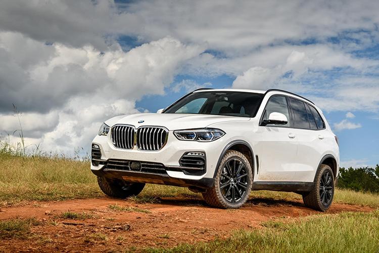BMW X5 mới sử dụng lốp General Tire.