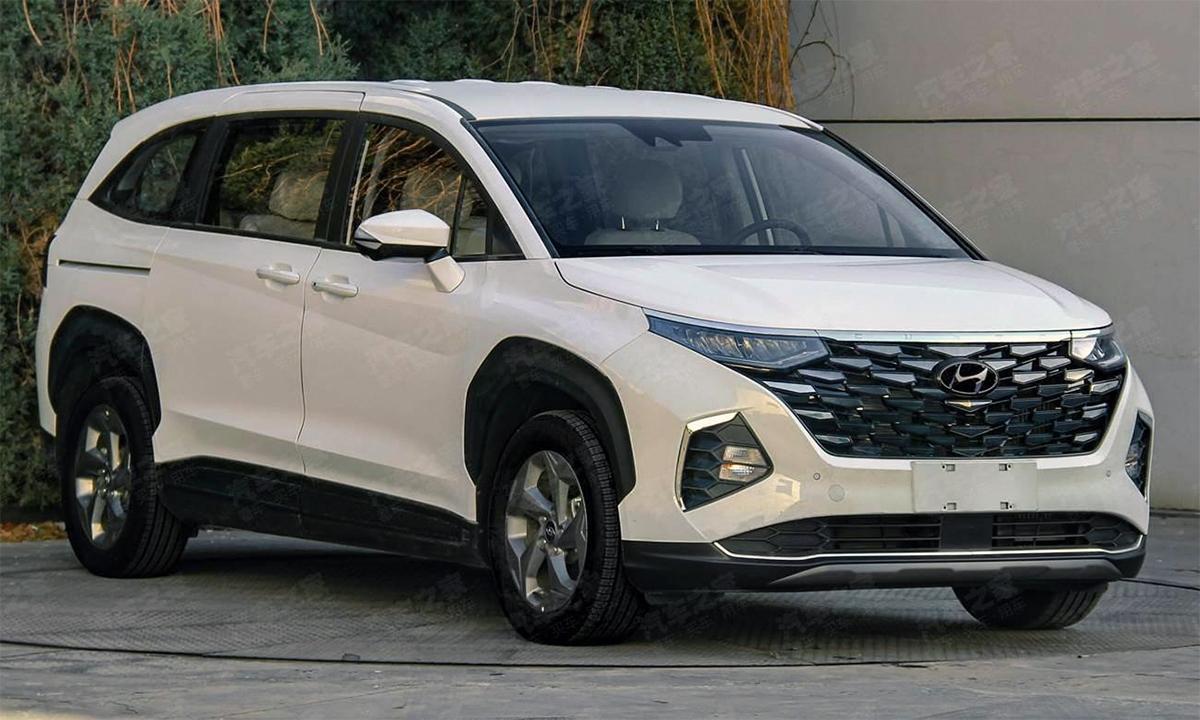 Custo - mẫu MPV mới dành riêng cho thị trường Trung Quốc. Ảnh: Carnewschina