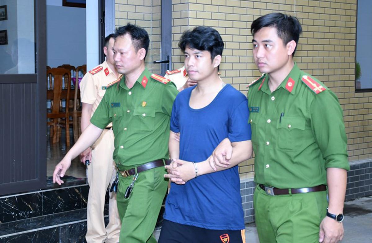 Phạm Anh Vũ bị bắt sau 28 ngày gây ra vụ nổ mìn tự chế tại tiệm vàng Đức Đệ, số 75 Hải Triều, phường Quán Toan, quận Hồng Bàng (Hải Phòng). Ảnh: Công an cung cấp