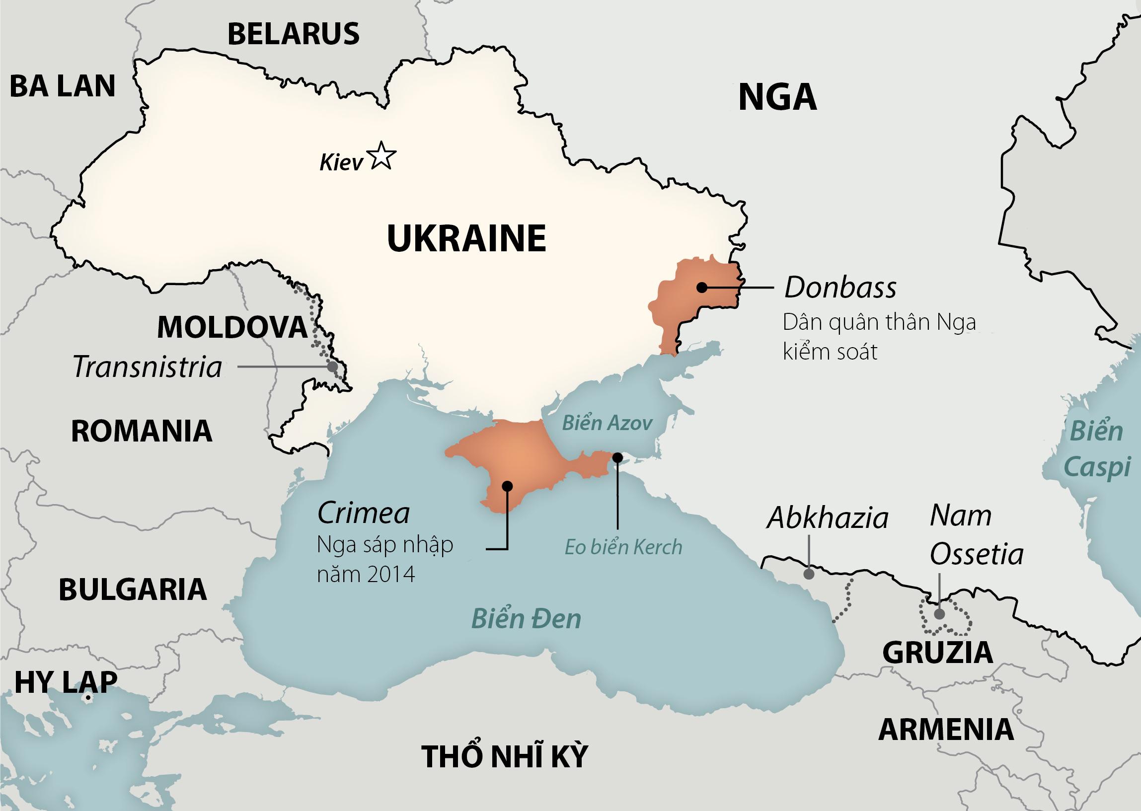 Nga phong tỏa một phần Biển Đen trong 6 tháng