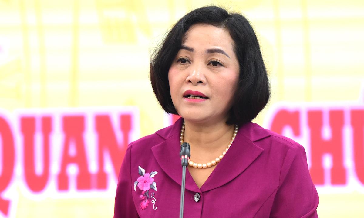 Bà Nguyễn Thị Thanh, Trưởng ban Công tác đại biểu, thuộc Ủy ban Thường vụ Quốc hội. Ảnh: Hoàng Phong