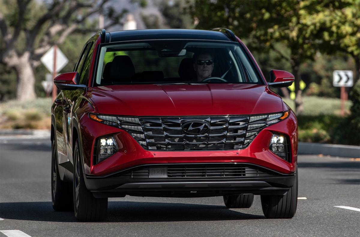 Tucson 2022 bán tại Mỹ. Ảnh: Hyundai