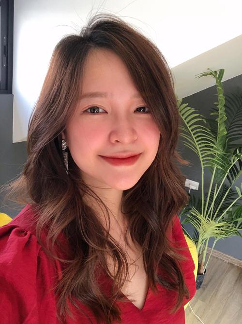 Linh hiện là giáo viên dạy IELTS tại Hà Nội. Ảnh: NVCC.