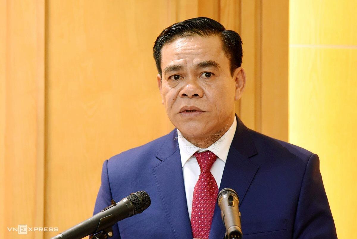 Ông Võ Trọng Hải, Phó bí thư Tỉnh ủy Hà Tĩnh. Ảnh: Hùng Lê