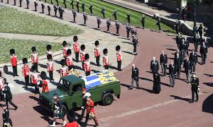 Buổi lễ Hoàng gia Anh tiễn đưa Hoàng thân Philip