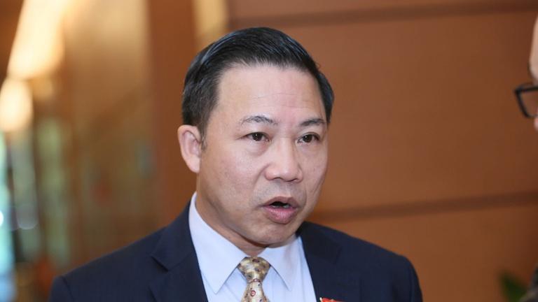 Đại biểu Lưu Bình Nhưỡng (Phó Ban Dân nguyện). Ảnh: Hoàng Phong
