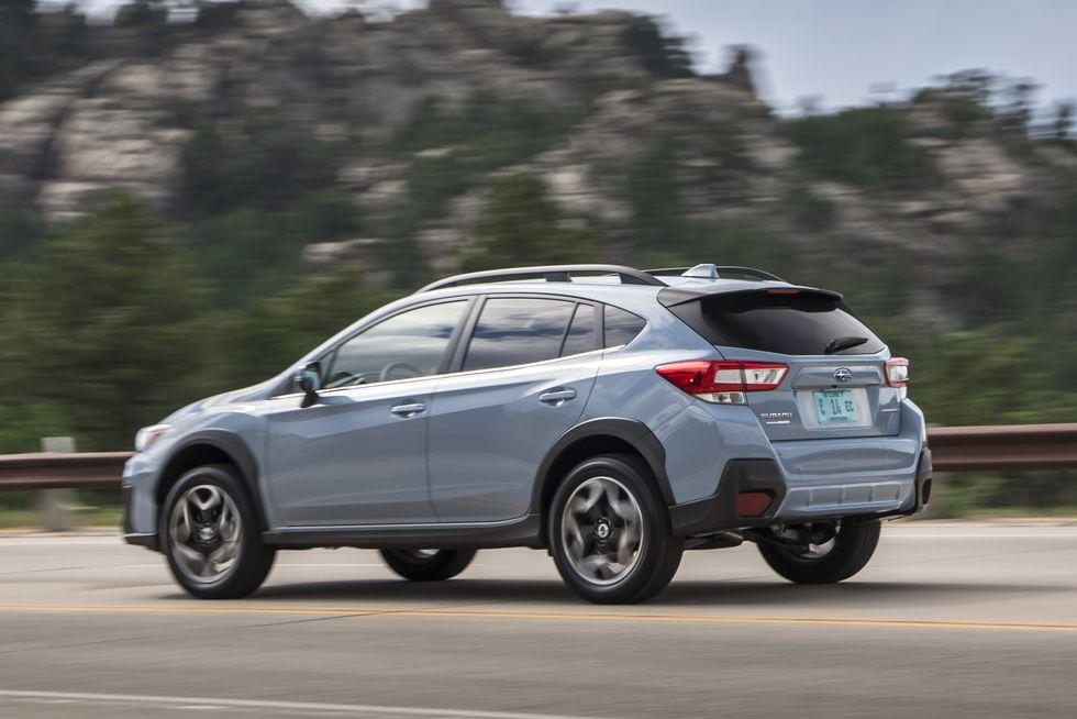 Subaru Cross Trek trong điện triệu hồi. Ảnh: Car and driver