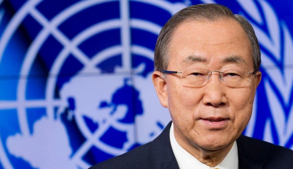 Ông Ban Ki-moon trong một hội nghị về Afghanistan năm 2009. Ảnh: LHQ.