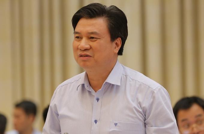 Thứ trưởng Giáo dục và Đào tạo Nguyễn Hữu Độ. Ảnh: Thế Công