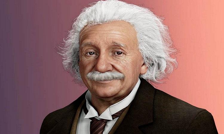 Einstein kỹ thuật số trang bị trí tuệ nhân tạo. Ảnh: UneeQ.
