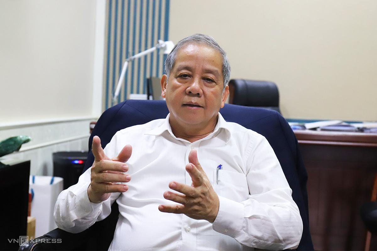 Ông Phan Ngọc Thọ, Chủ tịch tỉnh Thừa Thiên Huế. Ảnh: Võ Thạnh