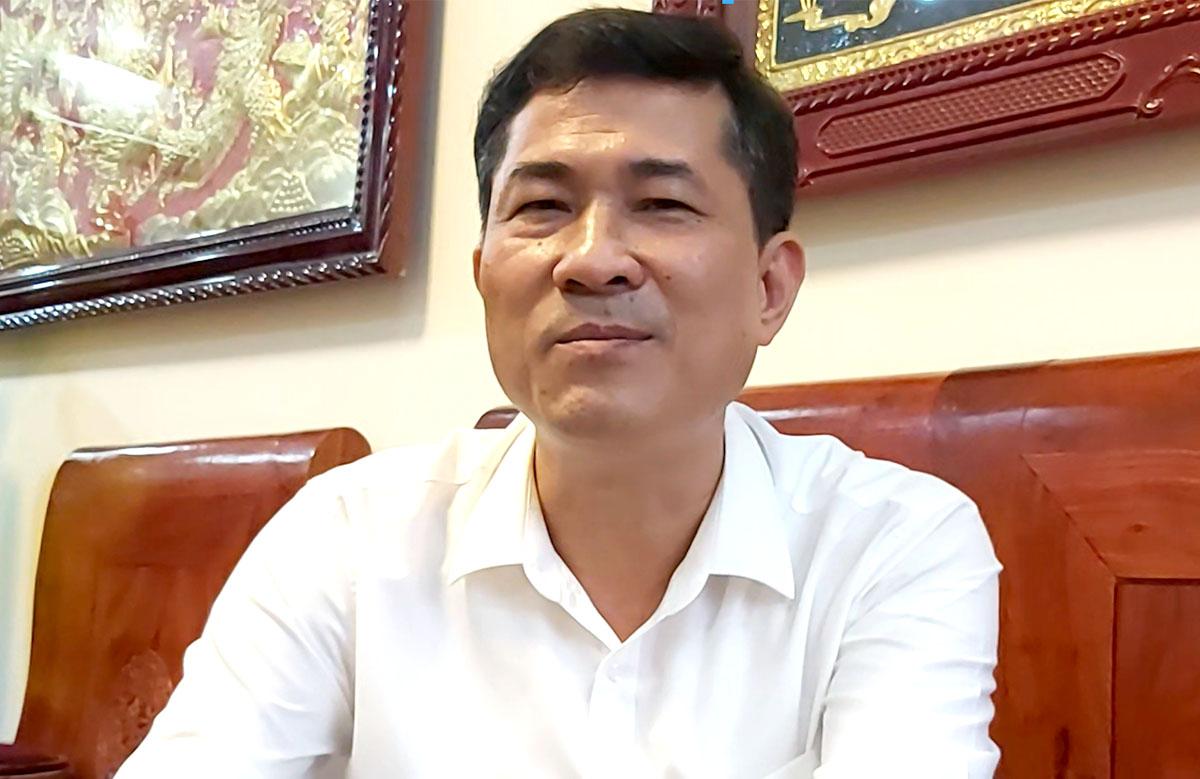 Ông Thái Văn Thành, Giám đốc Sở Giáo dục và Đào tạo Nghệ An. Ảnh: Nguyễn Hải